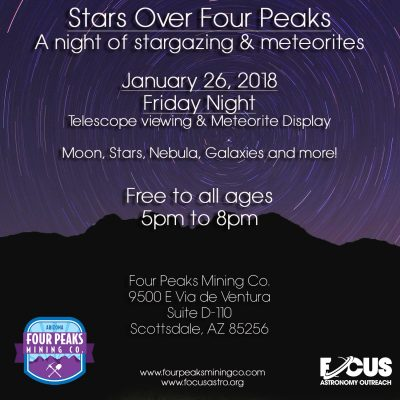 Stars Over Four Peaks – January 26th