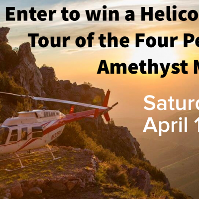 Win a Helicopter Tour – April 14th
