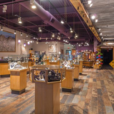 Learn More About the Four Peaks Mining Co. Store