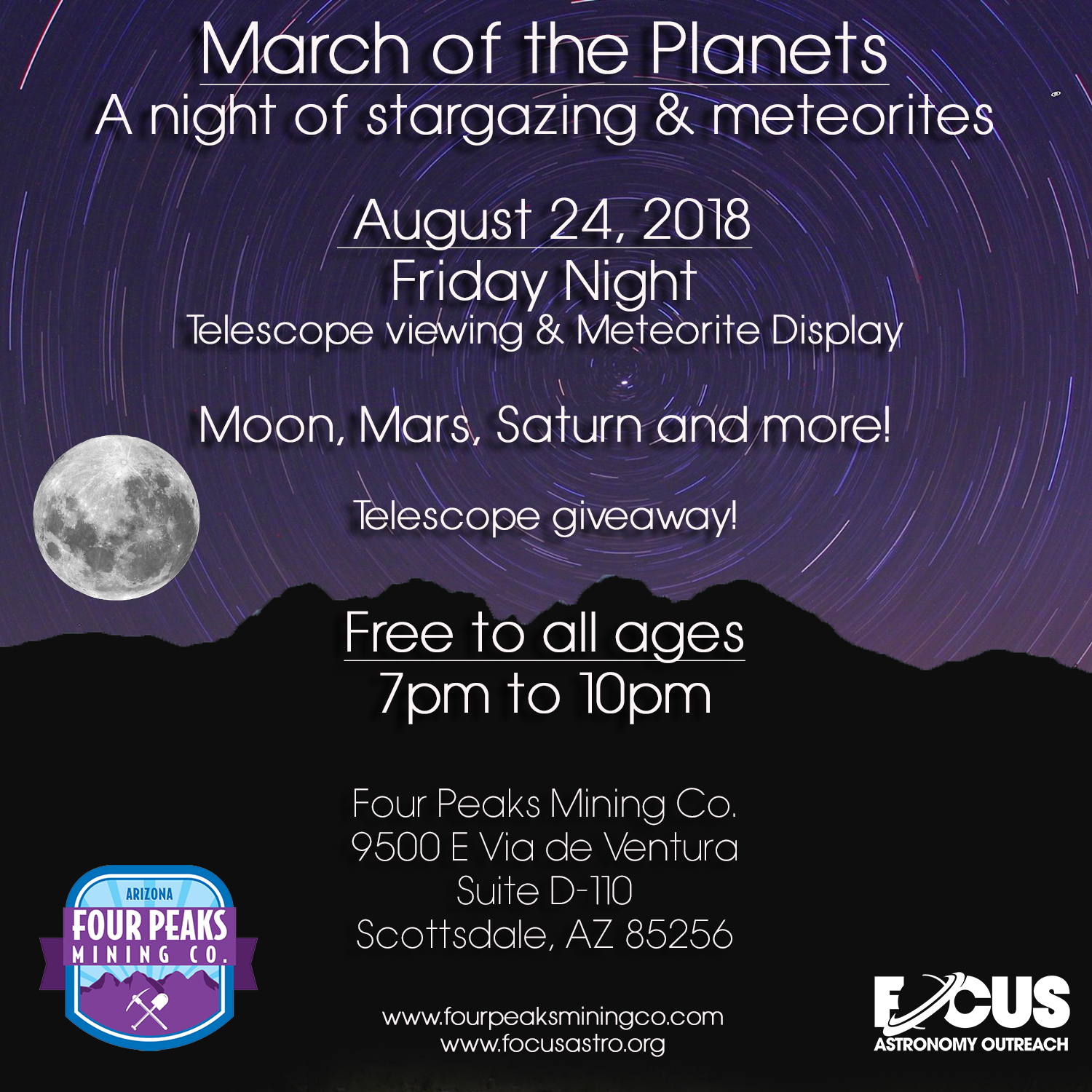 March of the Planets – August 24th