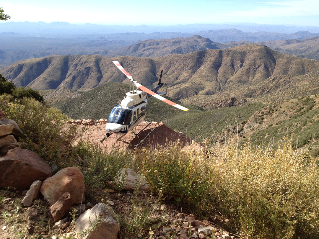 Helicopter Mine Tours Resume!
